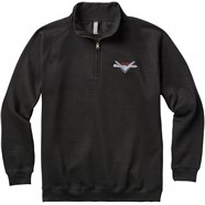 Fender® Custom Shop Half Zip Sweater - Black