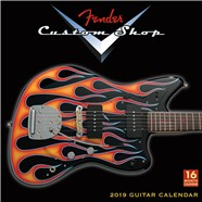 2019 Fender™ Custom Shop Wall Calendar -