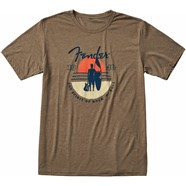 Fender® Sunset Spirit T-Shirt - Olive
