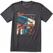 Fender® Jaguar® T-Shirt - Dark Gray