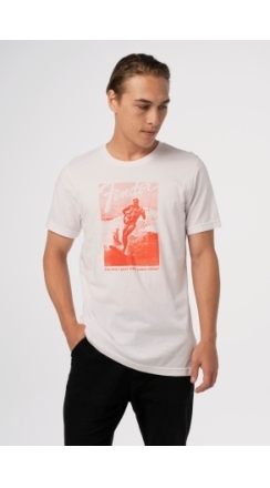 Fender® Jaguar® Surf T-Shirt - White and Red