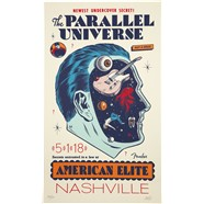 Limited Edition Morning Breath Parallel Universe American Elite Tele Poster -