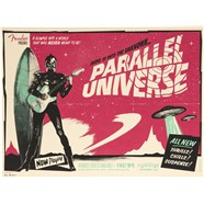 Limited Edition Parallel Universe Jazz Tele® Poster by Ivan Minsloff -