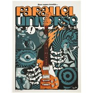 "Limited Edition Parallel Universe ""Troublemaker"" Tele™ Poster by Ivan Minsloff -"