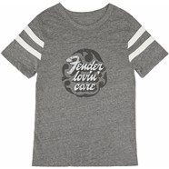 Fender® Women's Football T-Shirt, Gray - Gray