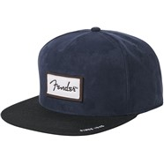 Fender® Suede Patch Logo Snapback Hat -