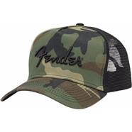 Camo Snapback Hat -