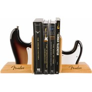 Fender™ Strat™ Body Bookends - Sunburst