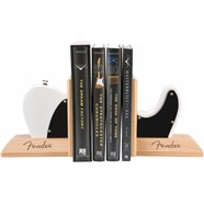 Fender™ Tele™ Body Bookends - White