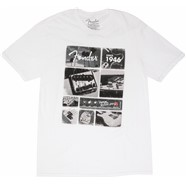 7f1afd9b8 Fender® Vintage Parts T-Shirt - White