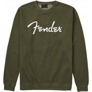 Fender® Spaghetti Logo Pullover - Army Green