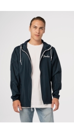 Fender® Spaghetti Logo Windbreaker - Navy