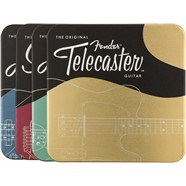 Fender™ Metal Coasters -