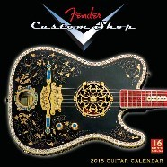 2018 Fender™ Custom Shop Wall Calendar -