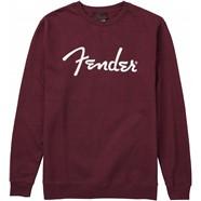 Fender® Spaghetti Logo Pullover - Maroon
