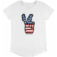 Fender® Women's Peace Sign T-Shirt - White