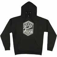 Fender® Spirit of Rock 'N' Roll Men's Hoodie - Black