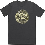 Fender® Medallion Men's Gray Tee - Gray