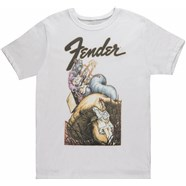 Fender® Men's Crew - White