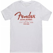 Fender® Electric Instruments Men's T-Shirt - White