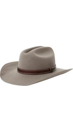 Fender® Brixton™ Paycheck Cowboy Hat - Grey