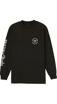 Fender® Brixton™ Highway L/S T-Shirt - Black
