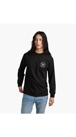 Fender® Brixton™ Highway L/S T-Shirt - Black