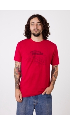 Tele® Blueprint T-Shirt - Red