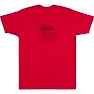 Tele® Blueprint T-Shirt - Red