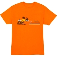 Fender® Hang Loose Unisex T-Shirt, Orange - Orange