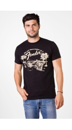 Fender® Get There Faster T-Shirt - Black
