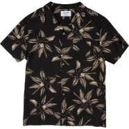 The Norvell Button Up Shirt - Black