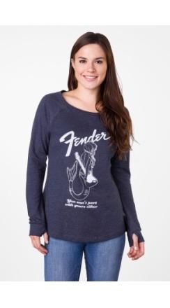 Fender® Mermaid Women's Long Sleeve - Navy