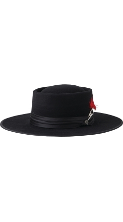 Fender® Brixton™ Flood Fedora - Black