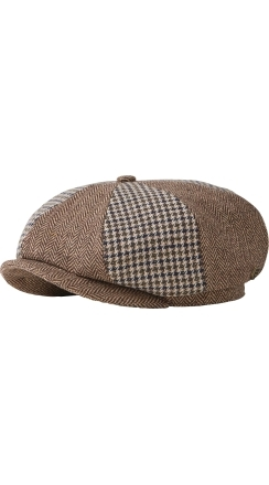 Fender® Brixton™ Philly Baggy Snap Cap - Mocha