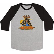 Meteora® Raglan - Gray and Black