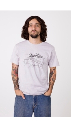 Strat® Blueprint T-Shirt - Silver