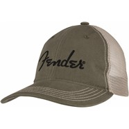 Embroidered Logo Soft Mesh Snap Back Hat  -