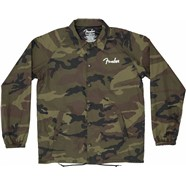 Camo Coaches Jacket - Camo