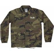 Camo Coaches Jacket - Camo
