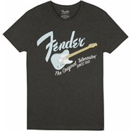 Fender® Original Telecaster® Men's Tee - Gray / Sonic Blue