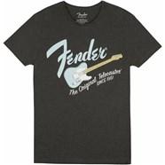 Fender® Original Telecaster® Men's Tee - Gray / Sonic Blue