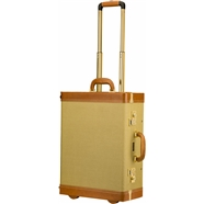 Fender® Tweed Rolling Luggage Case with Telescoping Handle -
