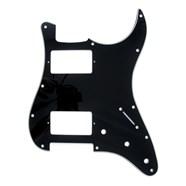 11-Hole Modern-Style Stratocaster® H/H Pickguards - Black