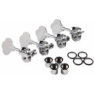 Deluxe F Stamp Bass Tuning Machines - Left-Hand -