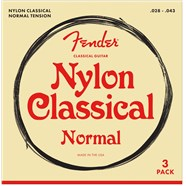 Classical/Nylon Guitar Strings - 3-Pack -