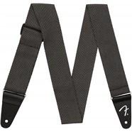 "2"" Modern Tweed Strap - Gray and Black"