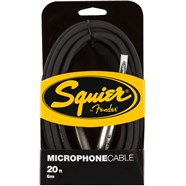 Squier® Microphone Cable - Black