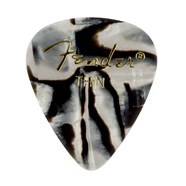 Fender® 351 Shape Graphic Picks (12 per pack) - Zebra
