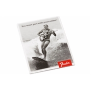 "Fender™ ""You Won't Part with Yours Either"" Surfer Magnet -"